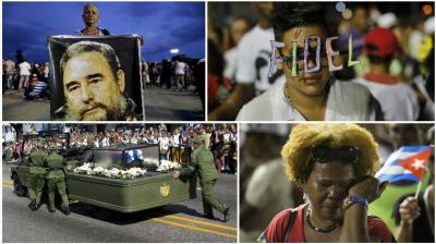 Cuba is nearing the end of its nine-day public mourning for Fidel Castro with a second massive rally in honor of the revolutionary leader. (Photos: AP)
