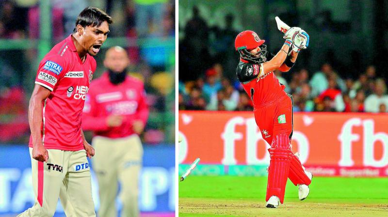 Sandeep storm shatters RCB as KXIP win by 19 runs