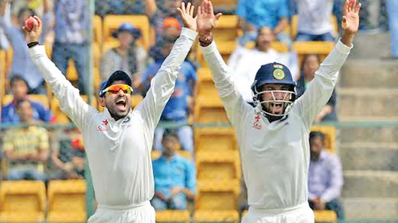India set Australia 188 for win in second test