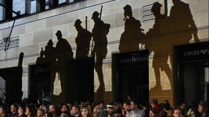 The Anzac Day was commemorated in several countries including France, UK and Belgium. The day marks the landing of thousands of troops from the Australian and New Zealand Army Corps (ANZAC) on the Gallipoli peninsula in Turkey on April 25, 1915. (Photo: AFP)