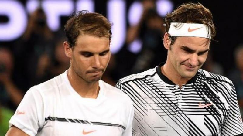 Nadal said although he welcomed the opportunity to finish the year with another high-profile clash against Federer, he was not fixated on the need to defeat the Swiss after four straight losses to his old rival in 2017. (Photo:AFP)