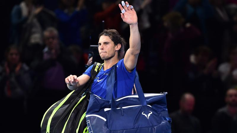 Despite having qualified 13 consecutive times for the ATP Finals, only eight of which he's been fit enough to compete in, Rafael Nadal has never won the event. (Photo:AFP)