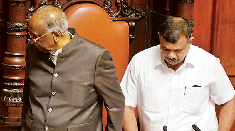 Karnataka LC Chairman wins no-confidence motion