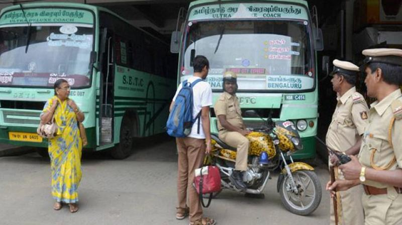 Indefinite bus strike in TN affects commuters, govt says ready for talks