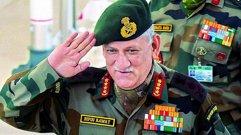 Army Chief Bipin Rawat Urges Jawans To Use Grievance Boxes