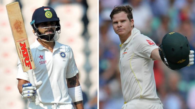 India Vs Australia First Test Cricket Score 184/5 (72)