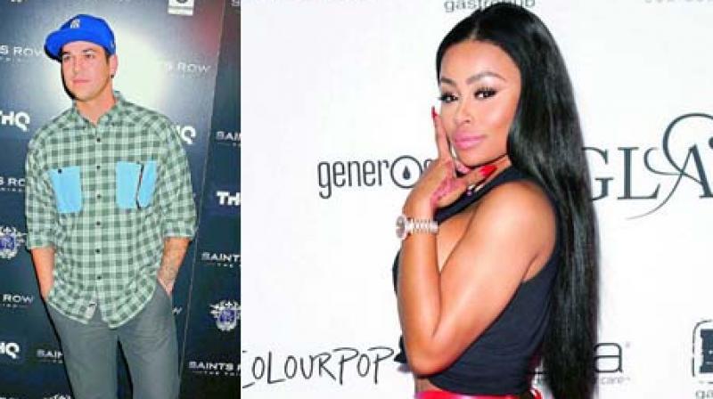 Rob Kardashian sues ex Blac Chyna, accuses former stripper of domestic violence
