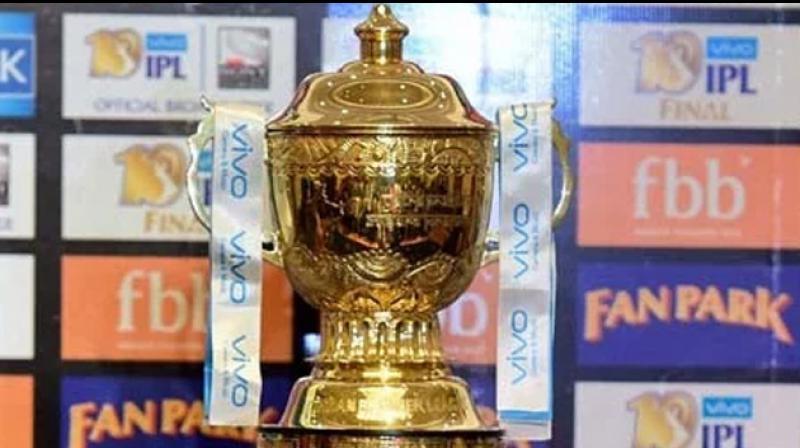 Indian Premier League trophy. (Photo: PTI)