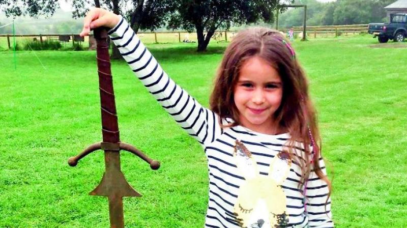 Excalibur 'confirmed': 7yo girl finds 'King Arthur's sword' in Cornish lake