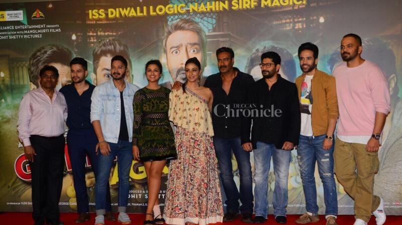 'Golmaal Again' new posters promise double dose of magic and madness