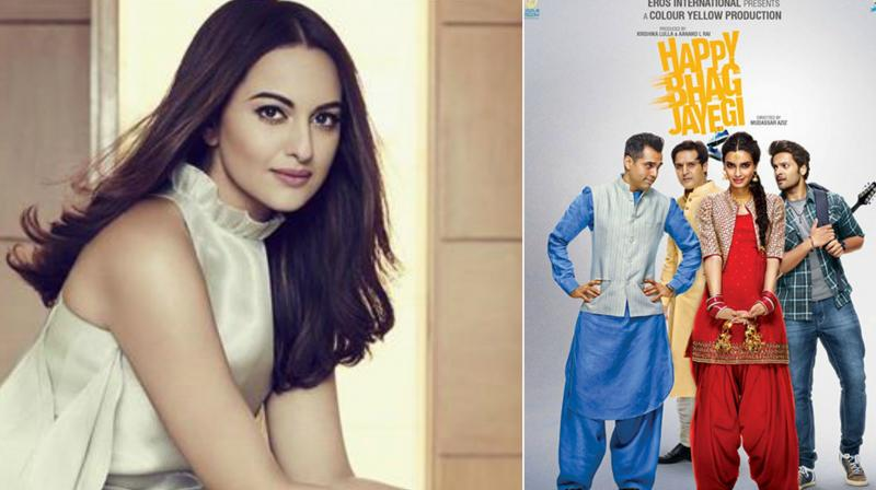 Sonakshi Sinha roped in for Happy Bhag Jayegi Returns""