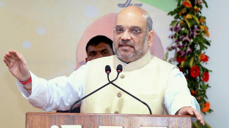Mahatma Gandhi 'bahut chatur baniya', knew Cong lacks ideology, says Amit Shah