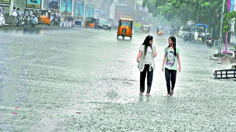 Monsoon keeps its date with Telangana
