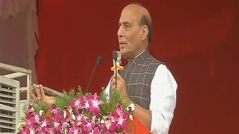 No talks until Pakistan ends 'export' of terrorism to India: Rajnath in Telagana