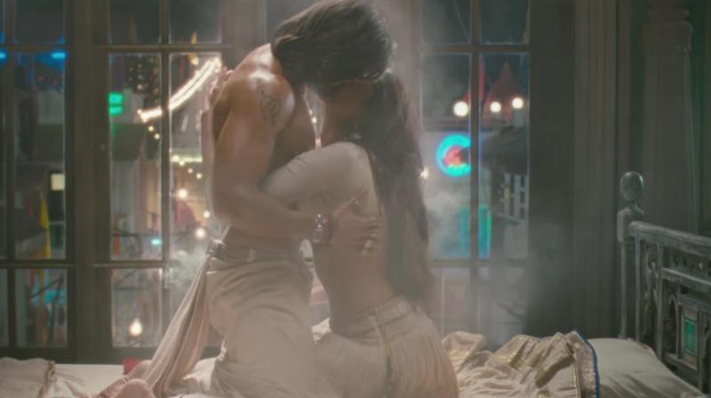Still from the song 'Ang Laga De Re' from 'Goliyon ki Rasleela: Ram Leela.'