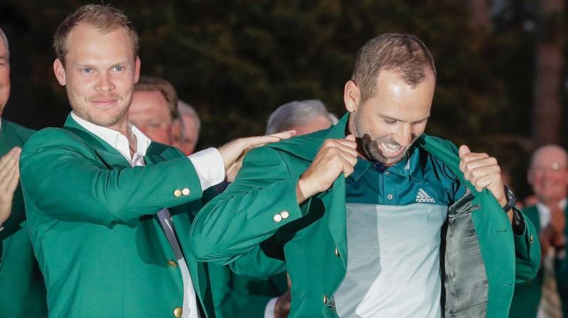 How Sergio Garcia joins his heroes Ballesteros and Olazabal