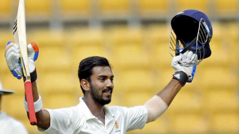 KL Rahul, who missed the Mohali Test against England due to an injury, has been declared fit. (Photo: PTI)