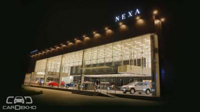 Maruti Suzuki Nexa Showroom Hyderabad Telangana