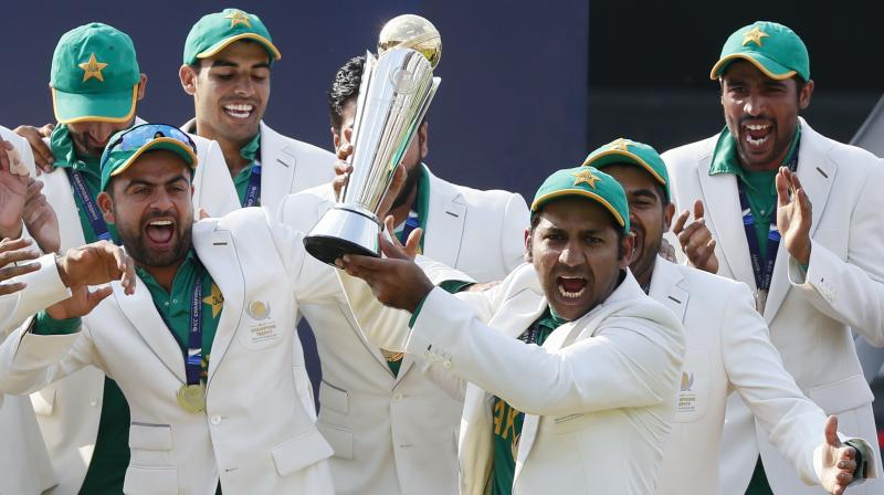 Sarfraz Ahmed was chosen as the captain following his inspirational leadership during the 2017 ICC Champions Trophy. (Photo: AP)