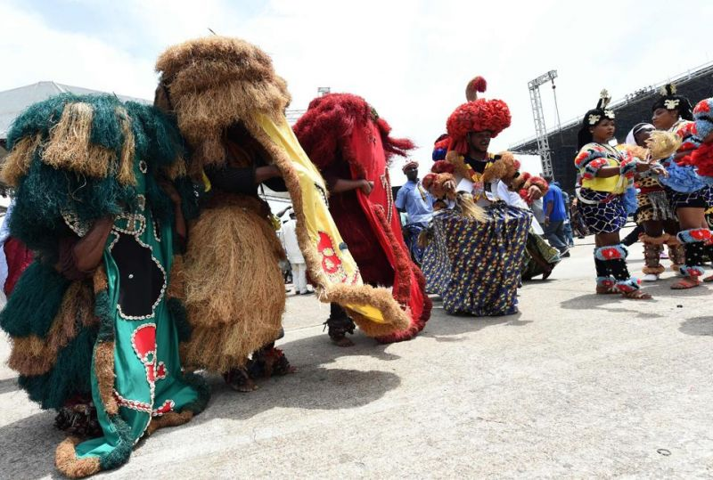 The carnival is a celebration of song and dance by locals expressing their rich culture.