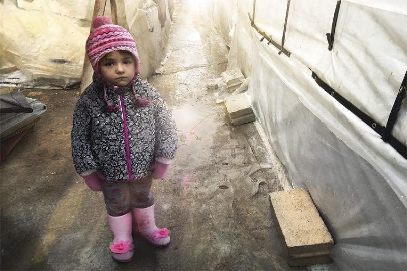 Zahra needs to be kept warm and anything but those crowded settlements would work for her.