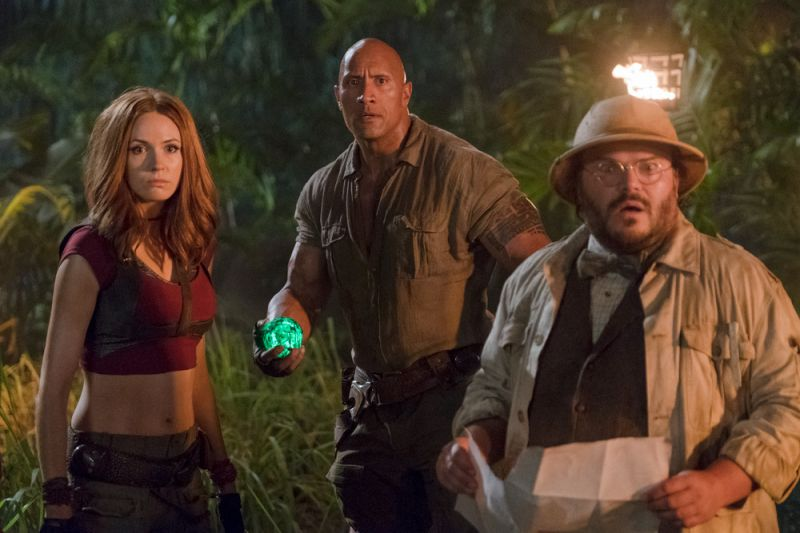 A still from 'Jumanji: Welcome to the Jungle'.