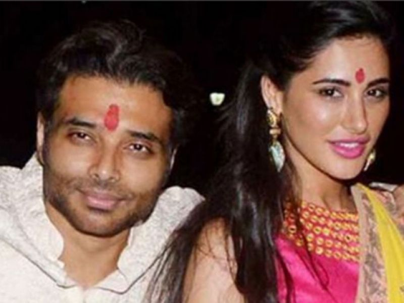 Uday Chopra and Nargis Fakhri spotted.