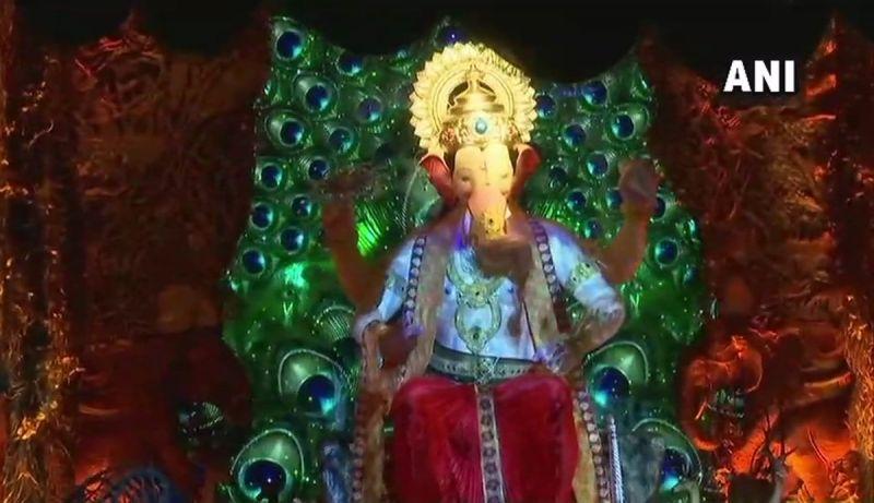 Lalbaugcha Raja First Look (Photo: ANi)