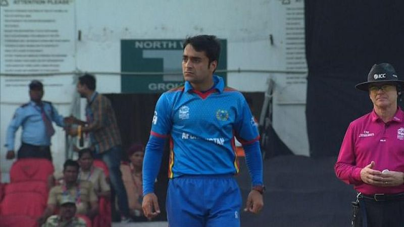 Rashid Khan: Rashid Khan along with Mohammad Nabi became the first Afghanistan cricketers to be bought by an IPL side. The bowler was bought by Sunrisers Hyderabad for Rs 4 crore. (Photo: ICC)