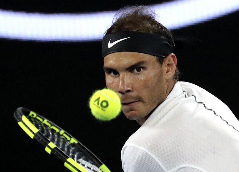 Rafael Nadal took Roger Federer all the way but fell just short. (Photo: AP)