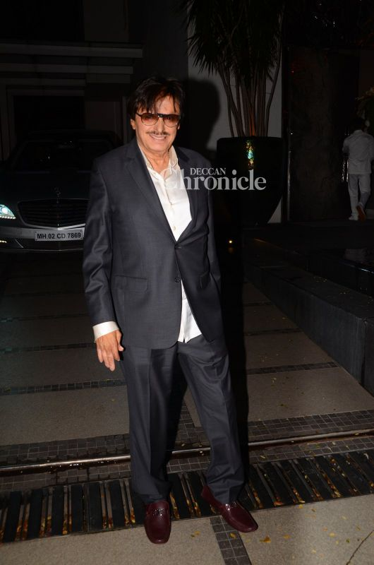 Sussanne's father Sanjay Khan was also spotted.