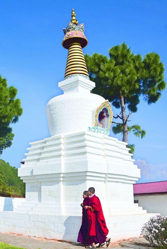 Young Bhutanese Nun