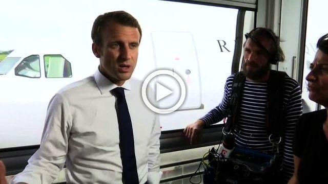 Macron delight at successful Paris 2024 Olympic bid