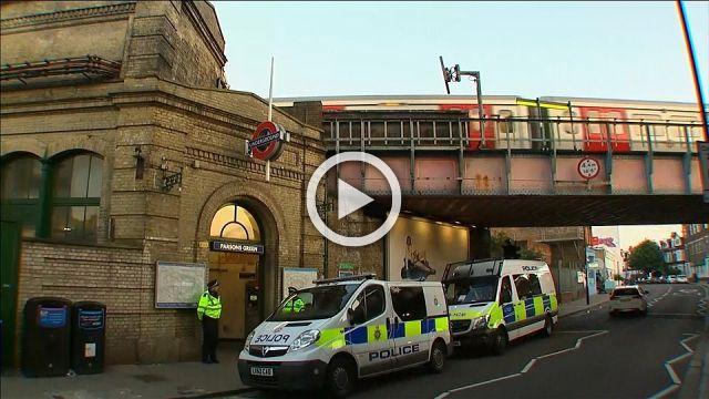 London tube station reopens, UK threat level raised to critical