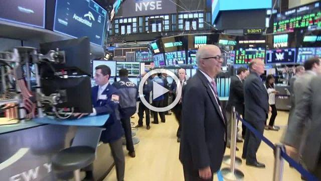 Wall Street edges higher