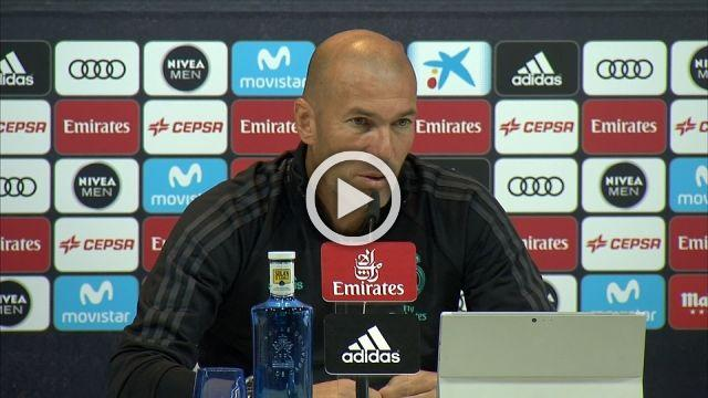 'The extension is done', says Zidane