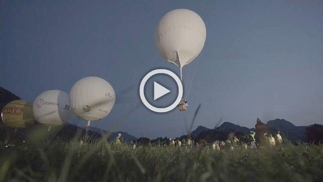 Frenchmen win balloon race, navigating from Switzerland to Estonia