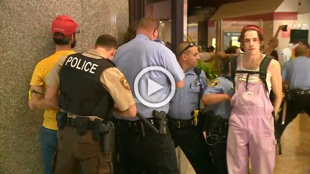 At least 20 arrested at St. Louis shopping mall