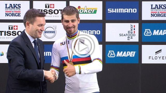 Third world title in a row for Peter Sagan
