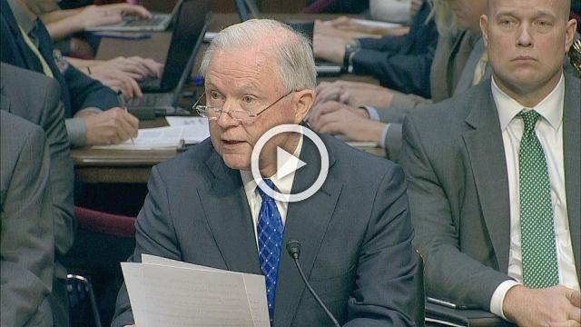Sessions: Can't disclose confidential conversations with president