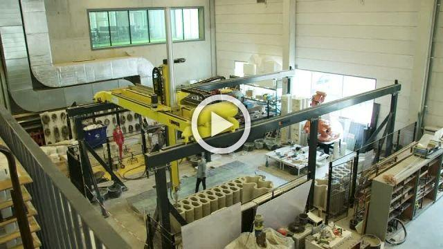 Dutch engineers unveil 3D printed concrete bridge