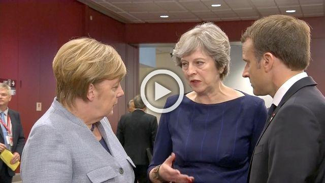 Merkel sends positive signal to May on Brexit
