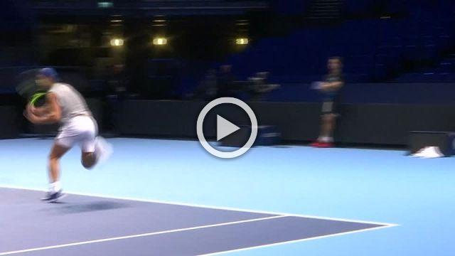 Nadal and Thiem limber up for ATP Tour finals