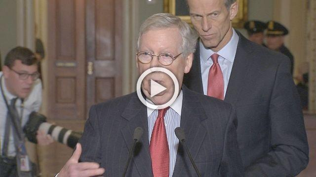 McConnell says Senate leaders looking at all options on Moore