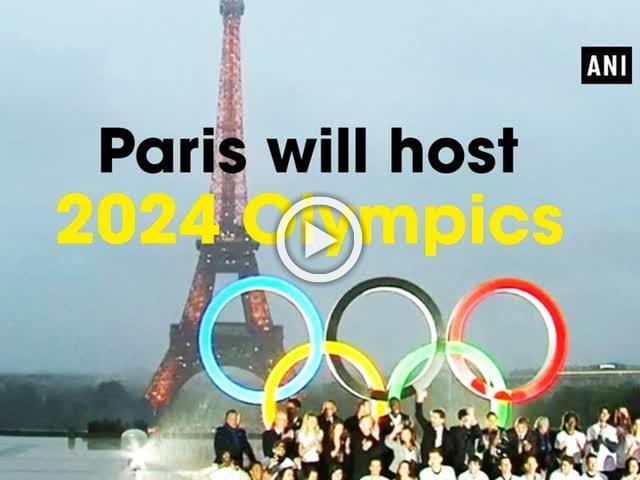 Paris will host 2024 Olympics
