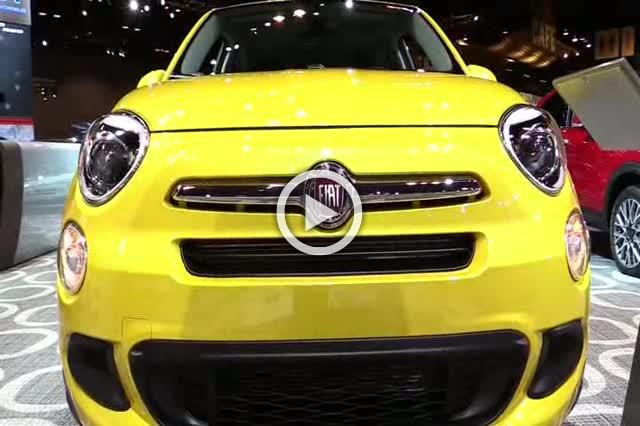 2017 Fiat 500X Exterior and Interior Walkaround Part II