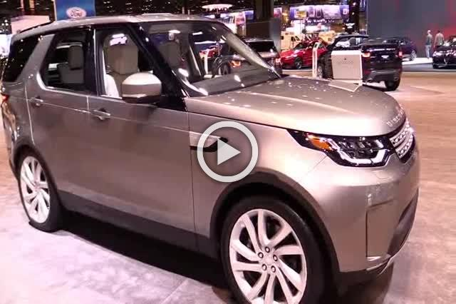 2017 Land Rover DIscovery HSE Luxury Part III