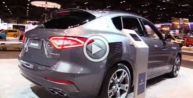 2017 Maserati Levante S SUV Exterior and Interior Walkaround Part II
