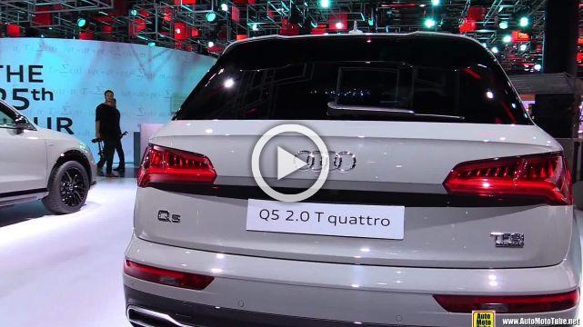 2018 Audi Q5 Quattro  Exterior and Interior Walkaround 2017 Frankfurt Auto Show