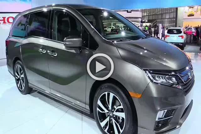 2018 Honda Odyssey Exterior and Interior Walkaround Part III
